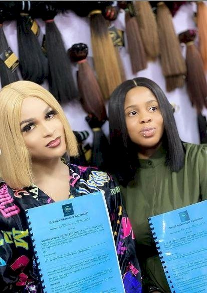 After clashing with Bobrisky, Transgender Buchi bags ambassadorial deal with hair care brand