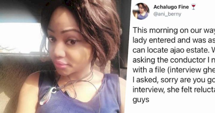 Lady narrowly saves job seeker from suspected kidnapper's den disguised as job interview venue