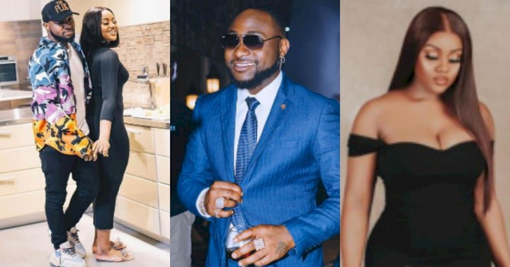"""Chioma reacts after Davido referred to her as """"Mama Ify"""" in his birthday message to her"""