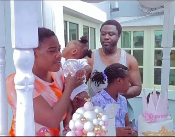 Mercy Johnson shares a loved-up family video in preparation for her child's birthday party