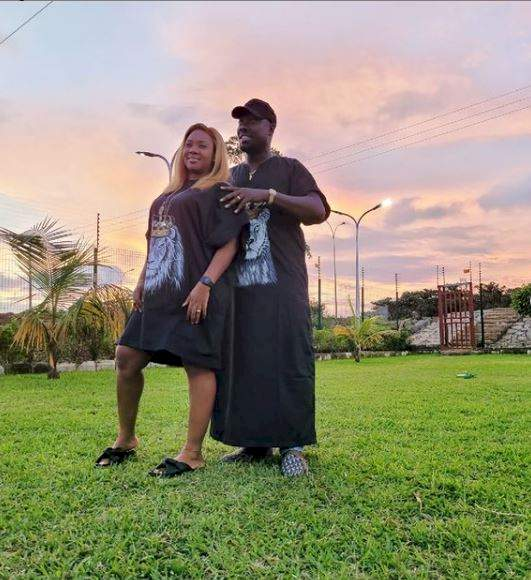 Socialite, Obi Cubana buys his wife a 2021 Mercedes-Benz GLE 53 car worth millions of naira (Video)