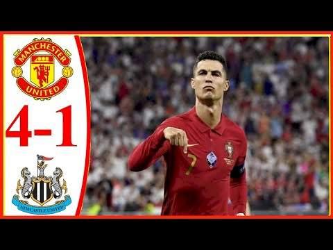 Manchester Utd 4 - 1 Newcastle (Sep-11-2021) Premier League Highlights