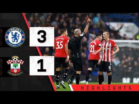 Chelsea 3 - 1 Southampton (Oct-02-2021) Premier League Highlights