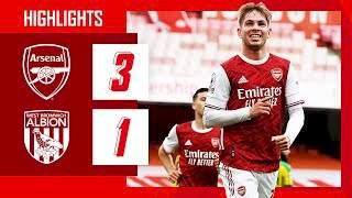 Arsenal 3 - 1 West Brom (Mar-09-2021) Premier League Highlights