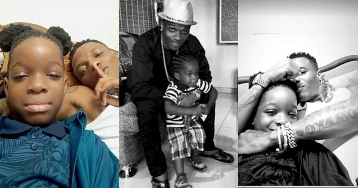 Wizkid celebrates son, Boluwatife, on 10th birthday; shares throwback photo