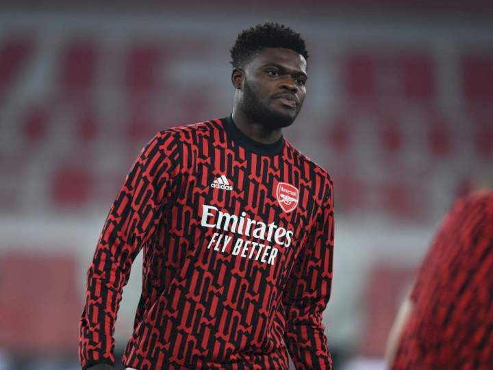 EPL: Thomas Partey to get new Arsenal shirt number