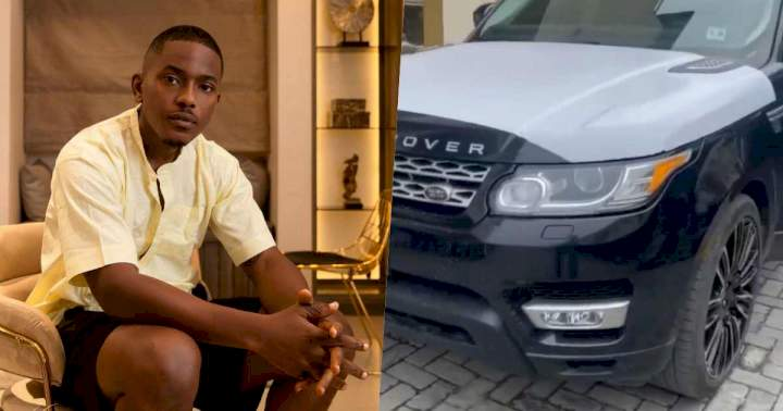 Actor, Timini Egbuson gifts himself a new Range Rover SUV in celebration of 34th birthday (Video)