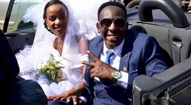 Physically challenged man narrates how he waited till wedding day to reveal his condition to his wife