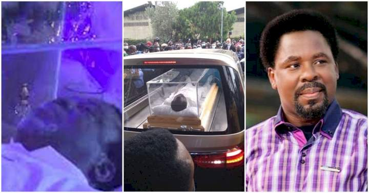 Photos and videos of prophet TB Joshua lying-in-state ceremony