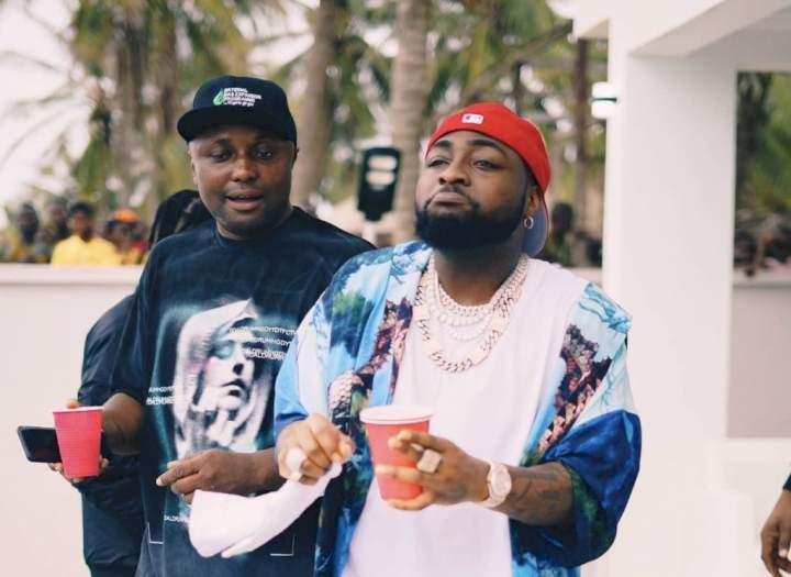 Isreal DMW jubilates as Davido allegedly lifts his suspension (Video)