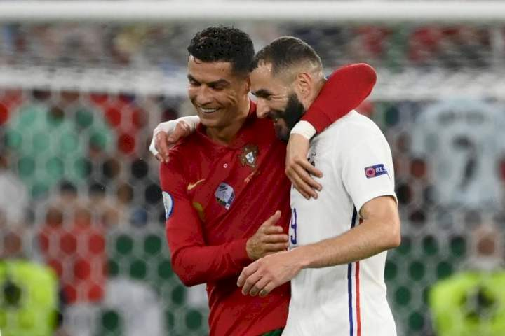 Portugal vs France: Benzema reveals conversation with Cristiano Ronaldo after 2-2 draw