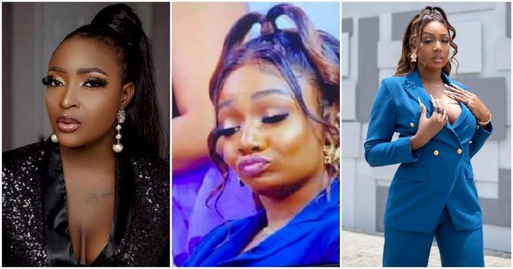 """""""You wanted to show us attitude, but you ended up like a street girl"""" - Blessing Okoro blast BBNaija's Tbaj"""