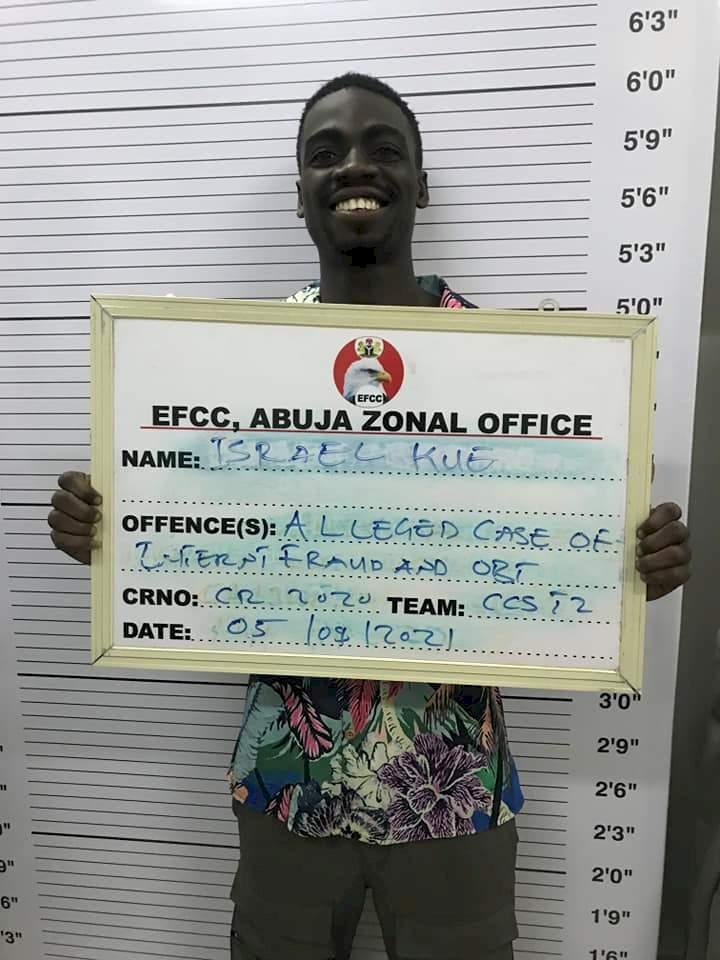 Smiling internet fraudster, nine others bag jail terms in Abuja