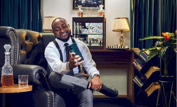 """""""Another one on the way"""" - Singer, Davido hint fans on plans to acquire a new car as he prepares to ship his Rolls Royce down to Nigeria (Video)"""