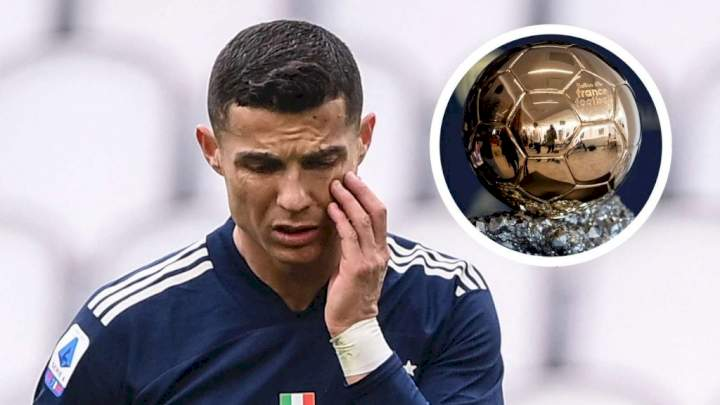 Ballon d'Or 2021: Ronaldo in 8th position as top 9 possible winners revealed (See list)