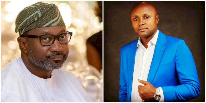 """Femi Otedola played a vital role in getting my University education"" - Davido's aide, Isreal DMW"