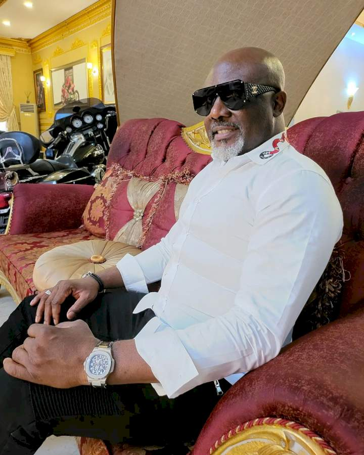 """""""This is the life, I reject poverty in Jesus name"""" - Dino Melaye prays as he flies private jet with Orji Uzor Kalu (Video)"""