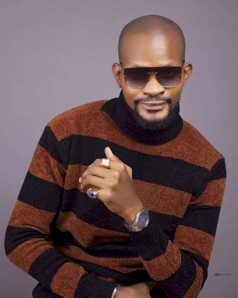 """I don't exchange words with married women wey dey kiss for BBNaija"" - Uche Maduagwu blasts Tega"