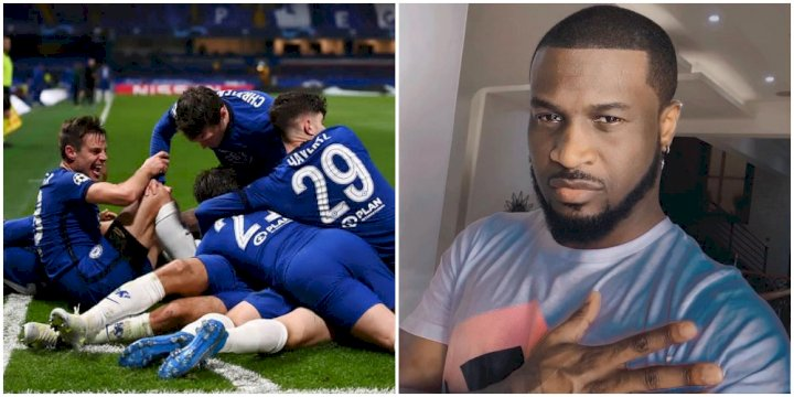"""I am N48M richer"" - Peter Okoye rejoices after winning bet following Chelsea's victory"