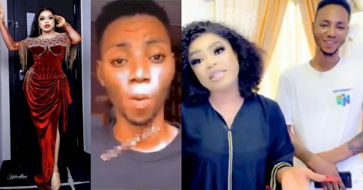"""""""Do it for love and not for money"""" - Man who tattooed Bobrisky on his arm educates the public on fans' love despite not getting what he expected"""