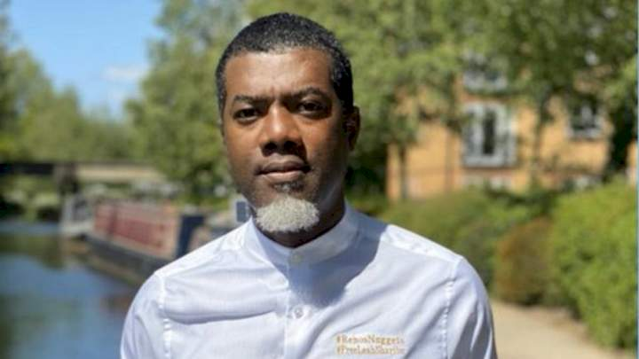 """BBNaija: """"Nigerians deserve Buhari"""" - Reno Omokri reacts as fans protest against injustice on Pere on a Monday morning"""