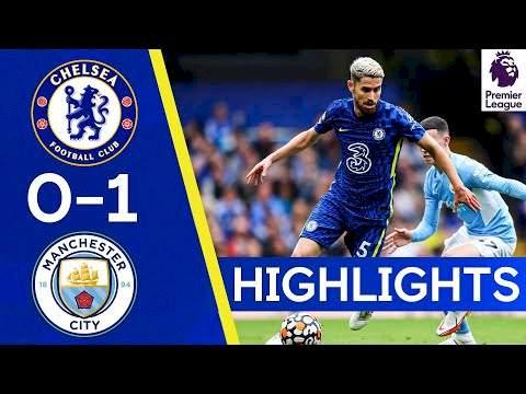 Chelsea 0 - 1 Manchester City (Sep-25-2021) Premier League Highlights