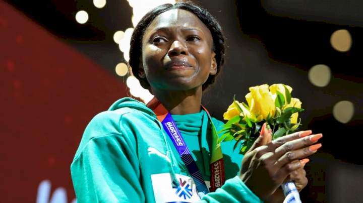 Tokyo Olympics: Nigeria's Ese Brume qualifies for final