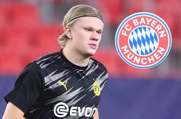 Bayern Munich confirm interest in signing Erling Haaland