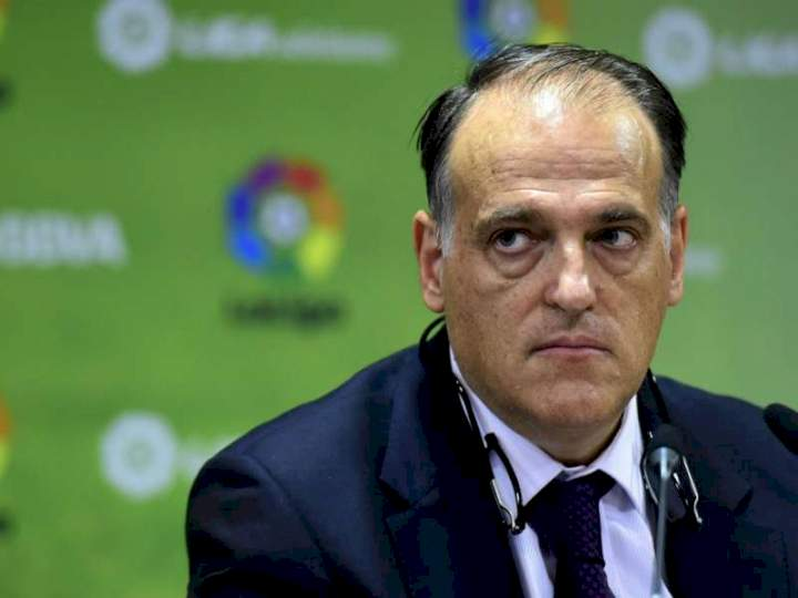 Real Madrid announces legal action against LaLiga president, Tebas, others