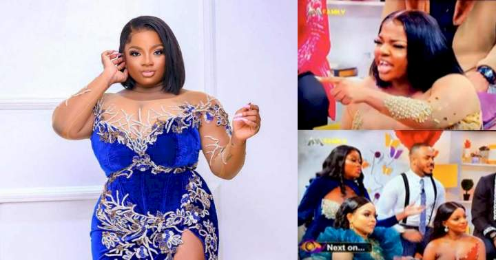 """""""E get wetin Ozo do this babe wey we no know"""" - Reactions as Dorathy lashes out during reunion premiere (Video)"""