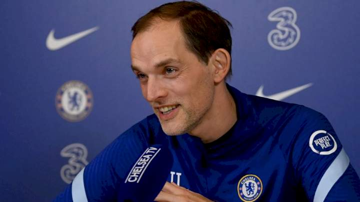 EPL: Tuchel gives verdict on Lukaku's display in Chelsea's 1 - 0 loss to Man City