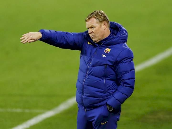 Champions League: Koeman reveals why Barcelona lost 3-0 to Bayern Munich