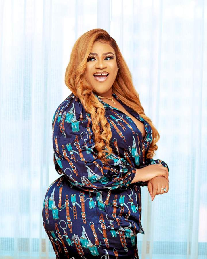 """""""I am not ashamed to be the breadwinner of my family"""" - Nkechi Blessing says in tribute to late mother"""