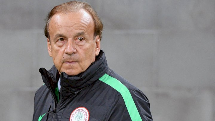 World Cup qualifiers: Rohr confirms he won't invite new players to Super Eagles squad