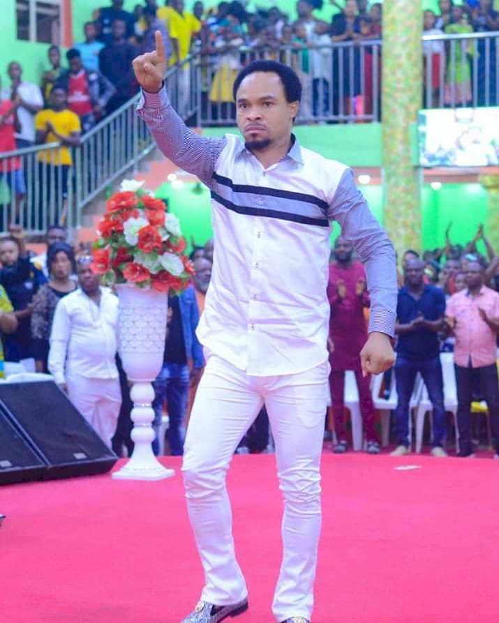 """You will not live to see next year, mark today's date"" - Prophet Odumeje rains curses on man who blamed him for Ada Jesus' death"