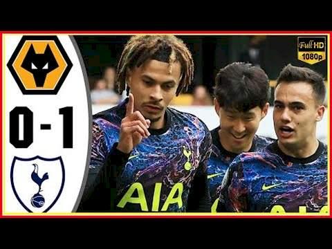 Wolves 0 - 1 Tottenham (Aug-22-2021) Premier League Highlights