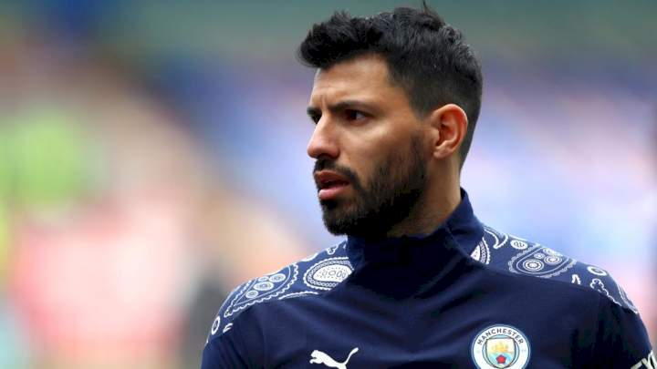 Sergio Aguero rejects Barcelona's No. 10 jersey