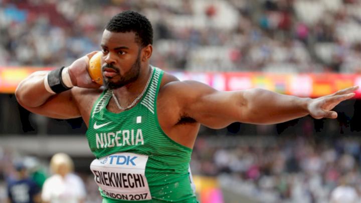 Tokyo Olympics: Nigeria's Enekwechi reacts to losing men's shot put final, reveals next plan
