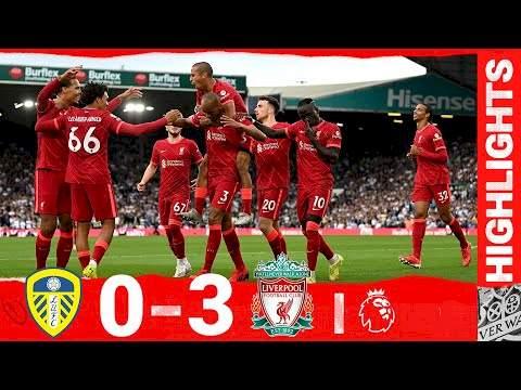 Leeds 0 - 3 Liverpool (Sep-12-2021) Premier League Highlights