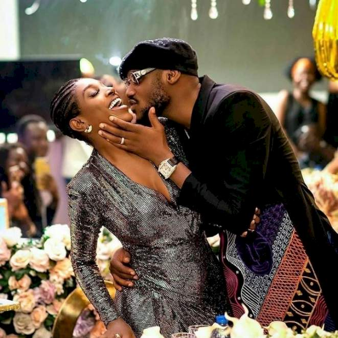 This story is not true - Tuface Idibia's babymama, Pero tackles 2face and wife, Annie Idibia