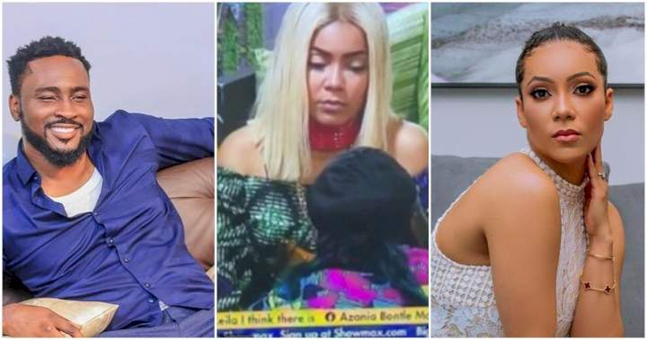 """#BBNaija: """"She told me to sleep with her"""" - Pere finally reveals what Maria told him after they took off their mics"""