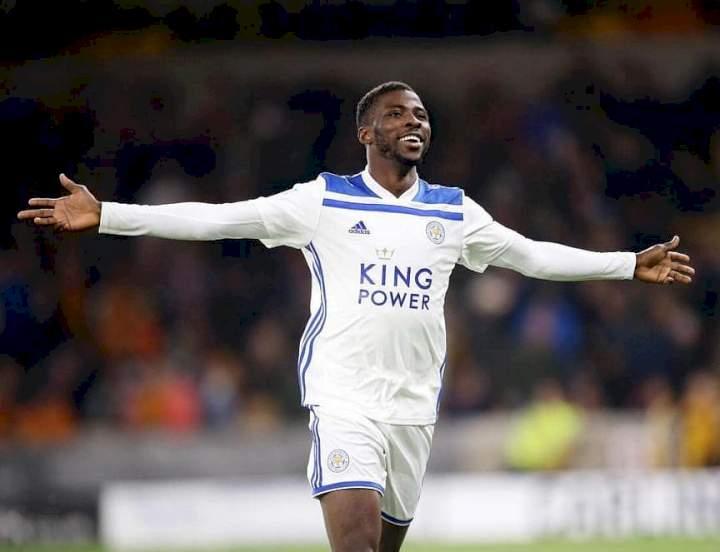 Iheanacho Wins Leicester City Goal Of The Season (Watch Goal)