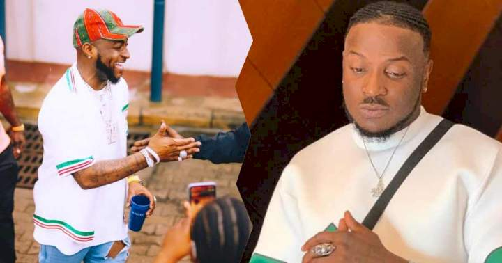 """You see him as your god"" - Reactions as Peruzzi says he hasn't been to Church since he met Davido"
