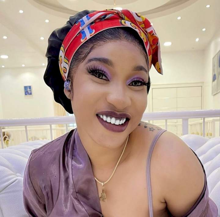 """""""Being born again has nothing to do with my inner craze"""" - Tonto Dikeh warns trolls"""