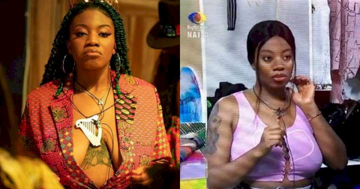 """#BBNaija: """"Three people will leave on Sunday and I'm inclusive"""" - Angel affirms (Video)"""