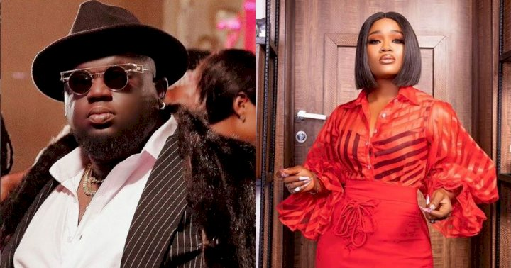 """I wish she is my girlfriend"" - Music producer, Soso Soberekon opens up on crushing on reality star, Cee-C"