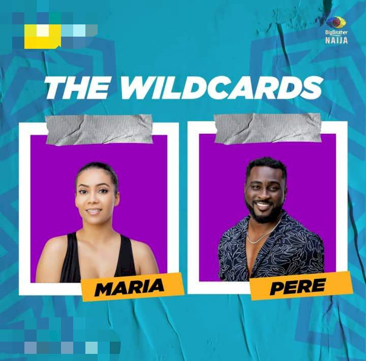 """BBNaija: """"Wild card love"""" - Reactions as Maria is spotted styling Pere's hair (Video)"""