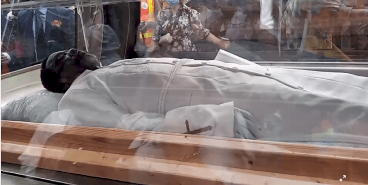 Tears flow at SCOAN as TB Joshua is laid to rest [Video]