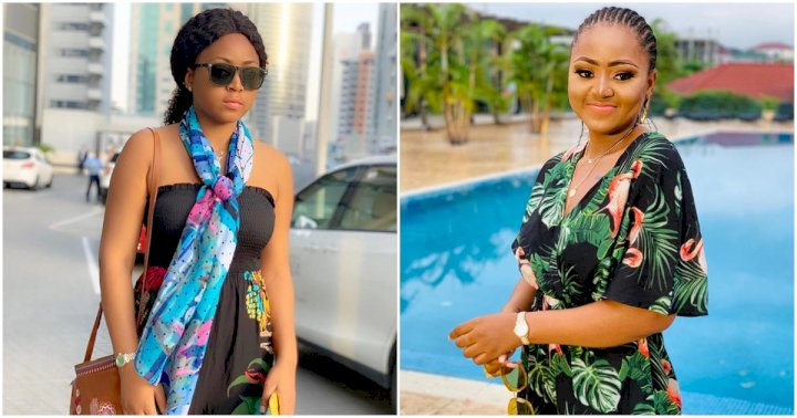 """Your love and care makes me want to fall sick every day"" - Regina Daniels appreciates her fan after surgery"