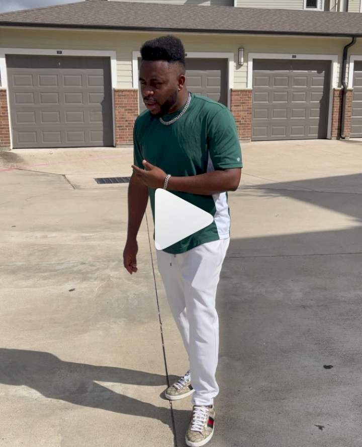 Samklef shows off his first house in United States